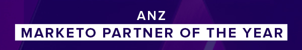 ANZ Marketo Partner of the year